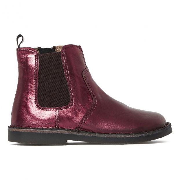 size 40 c1f8b e154a Metallisierte Chelsea Boots - Two Con Me Kollektion - Rot