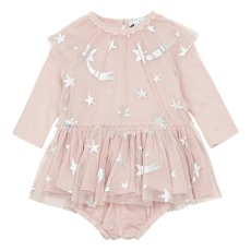 product-Stella McCartney Kids Star Tulle Dress + Bloomers