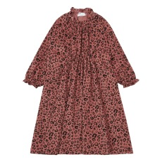 product-Maed For Mini Robe Léopard Velours Côtelé