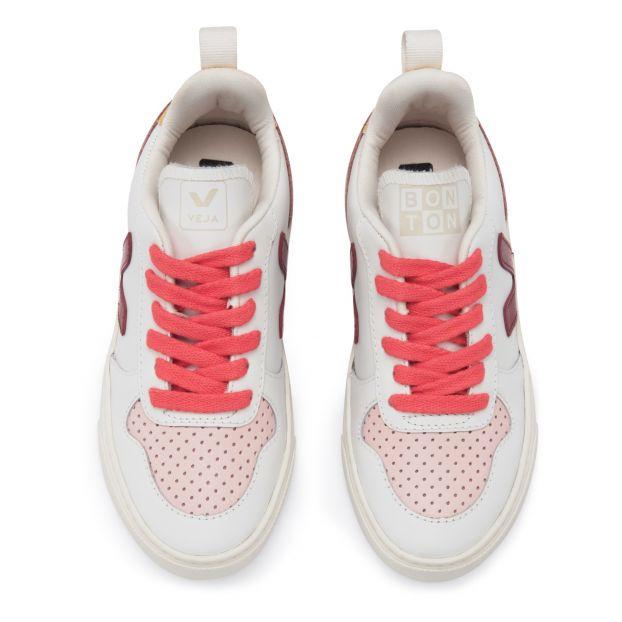 V10 Schuh Chaussures Veja TeenagerKind Bonton de X Rosa Tennis XPiukOZ