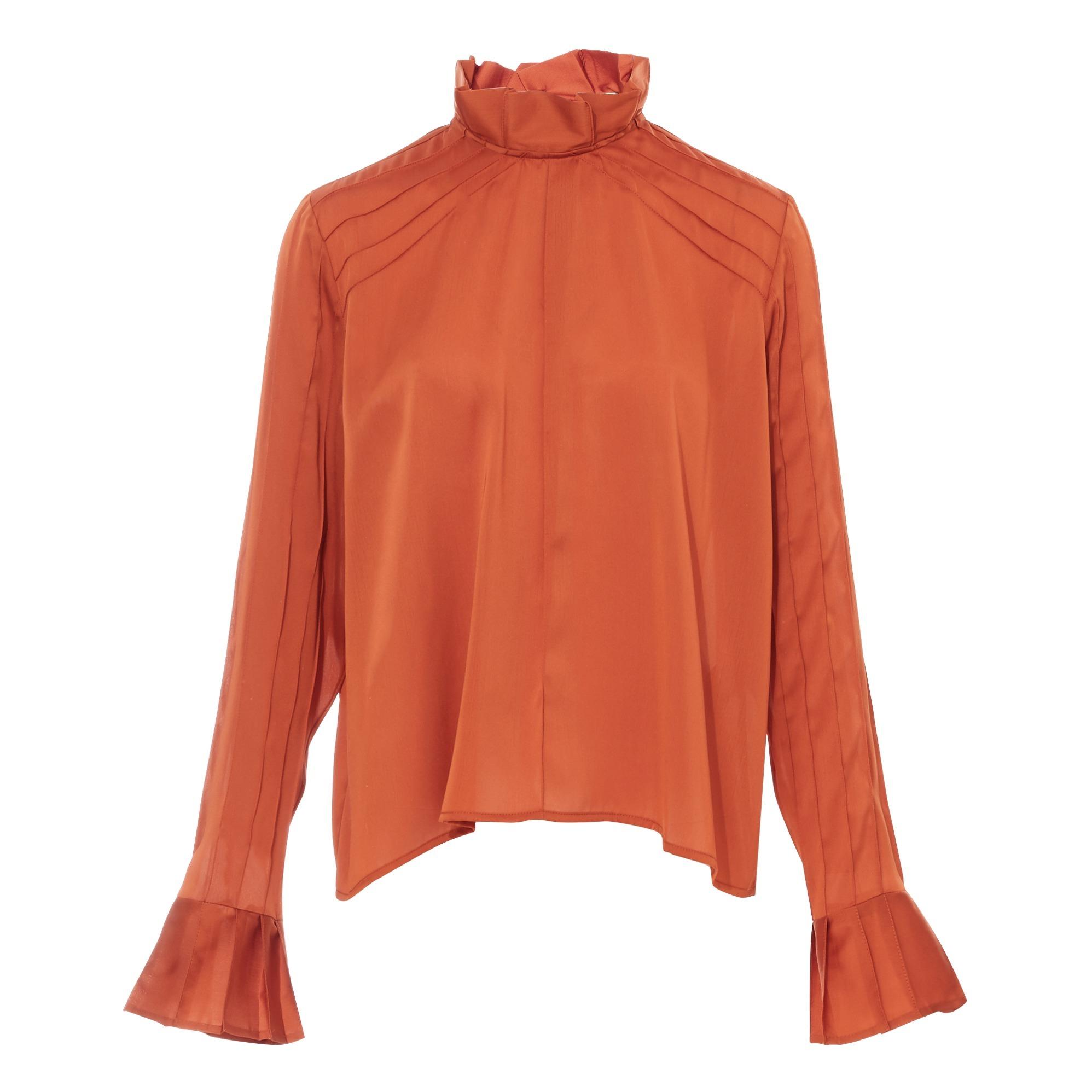 Blouse chemise HANNI dentelle T.34 ROSEANNA