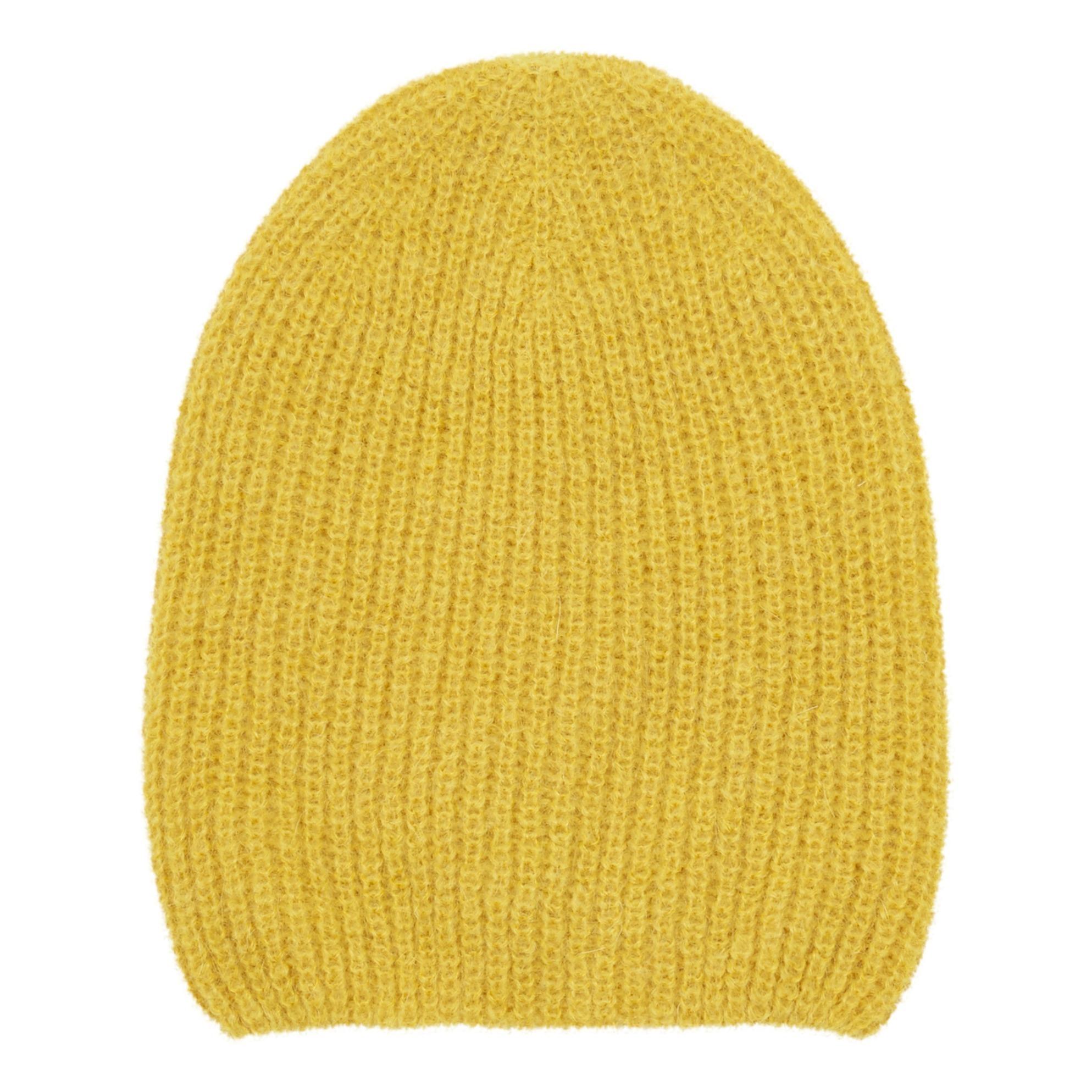 PIECES WOLL PULLOVER Damen Gelb Ceylon Yellow 52