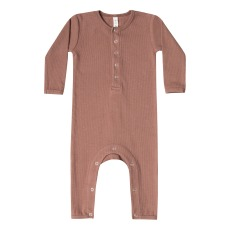 product-Quincy Mae Organic Cotton Ribbed Babygrow