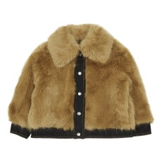product-Stella McCartney Kids Abito finta pelliccia