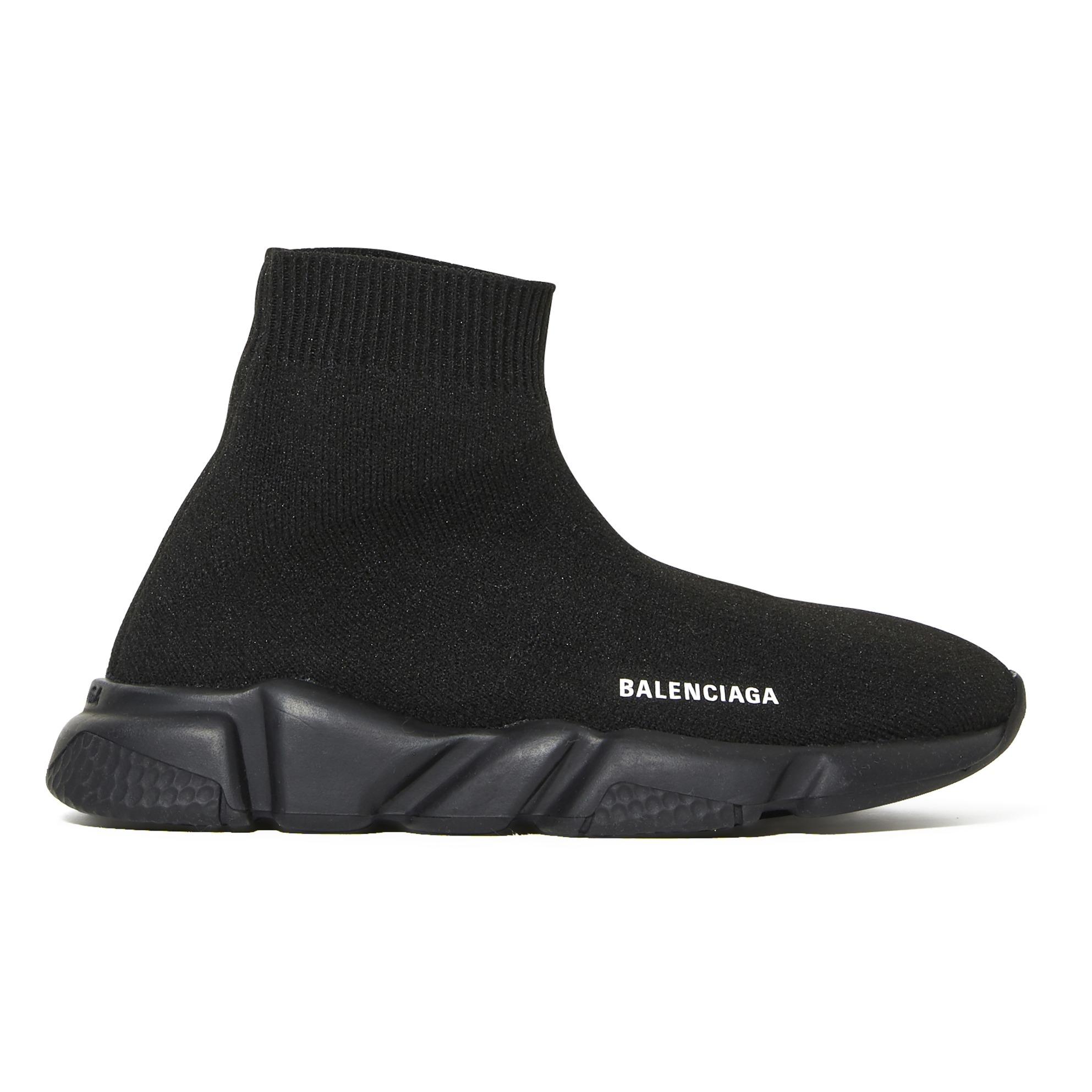 Total Black Speed Trainers Black Balenciaga Shoes Children