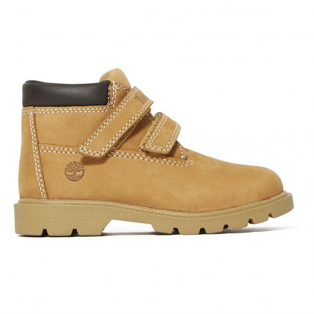 Boots mit Klettband Chucca Kamelbraun