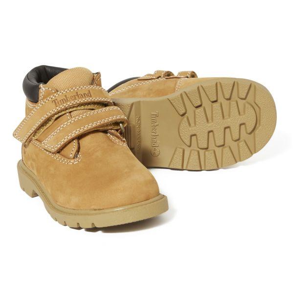 Rabatt Boots mit Klettband Chucca Kamelbraun Timberland