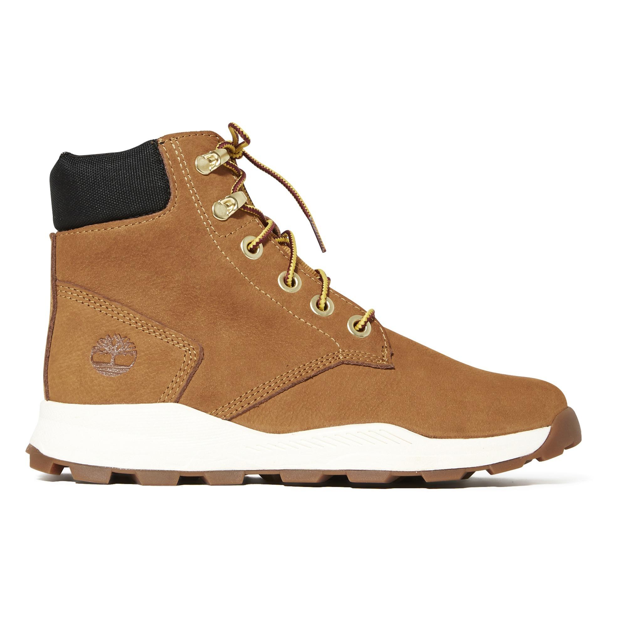 Sneakers scamosciati Brooklyn Camel Timberland Scarpe Teenager ,