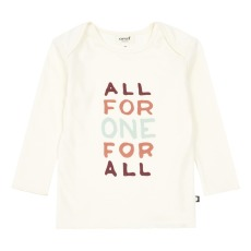 product-Oeuf NYC T-Shirt Bébé All For One Coton Pima Bio