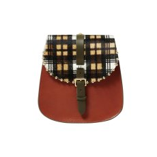 product-HERBERT FRERE SOEUR Sac Sab Medium Clown Tartan