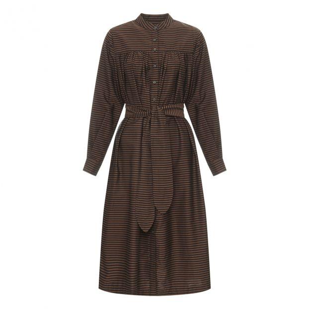 Kleid Priscilla Braun
