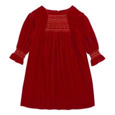 product-Bonpoint Divine Velvet Dress - Christmas Collection -