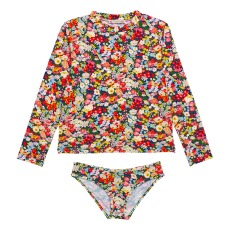 product-Bonpoint Long Sleeve 2-Piece Swimsuit