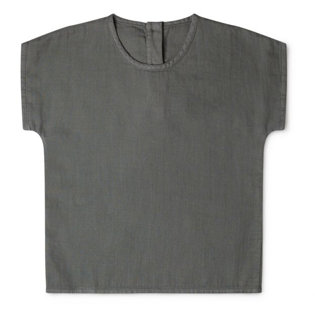 100/% Organic Cotton Boys Long Stripe T-Shirt Sizes Age 1-2 3-4 - RUST 2-3