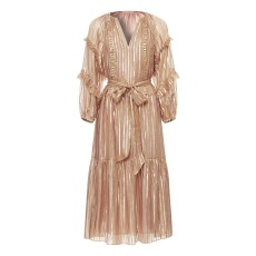 product-Ulla Johnson Robe Soie et Lurex Talitha