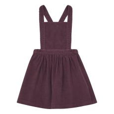 product-Petite Lucette Robe Tablier Velours Lucie