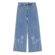 product-Scotch & Soda Jean Taille Haute Palmiers