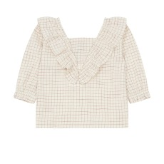 product-the new society Blouse Bouquet Check