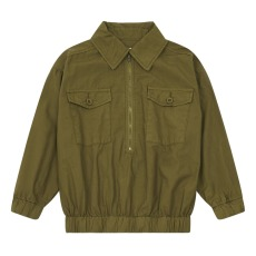 product-the new society Walnut organic cotton jacket