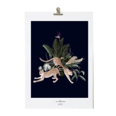 product-Maison Baluchon Poster A4 Jungle N ° 22