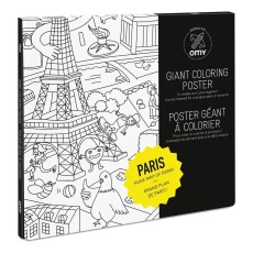 product-Omy Giant Paris Colouring-in Poster