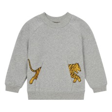 product-Milk on the Rocks Sudadera Sancho Tiger Pocket
