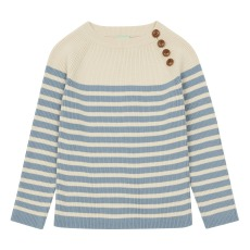 product-Fub Buttoned Organic Cotton Jumper
