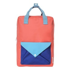 product-Sticky Lemon L Envelope Tricolour Backpack