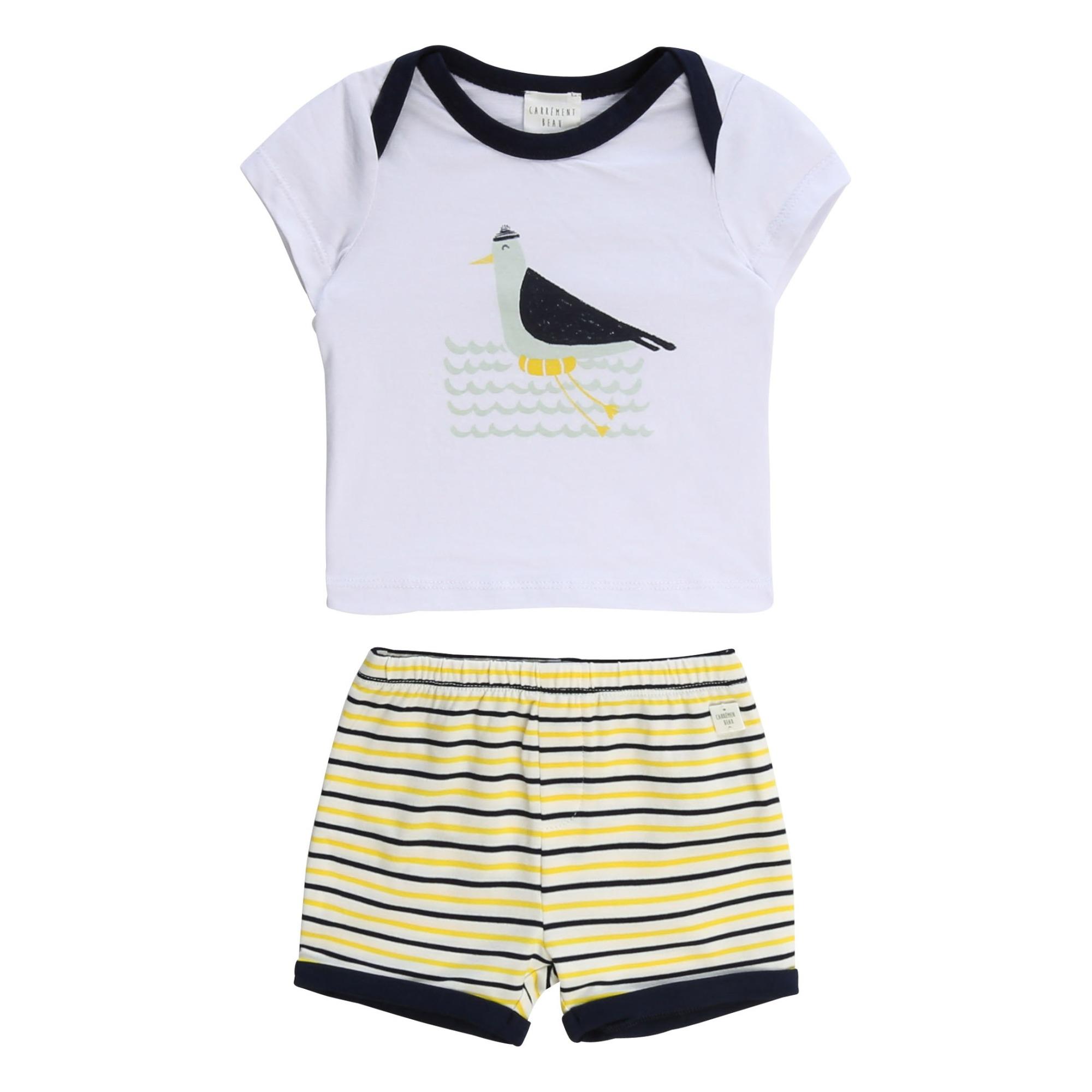 T-Shirt + Short Oiseau