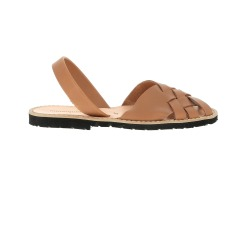 product-Minorquines Sandales Cuir Compostelle - Collection Adulte -
