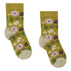 product-Hansel from Basel Calcetines Mini 70's Floral Crew