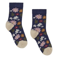 product-Hansel from Basel Mini 70s Floral Crew Socks