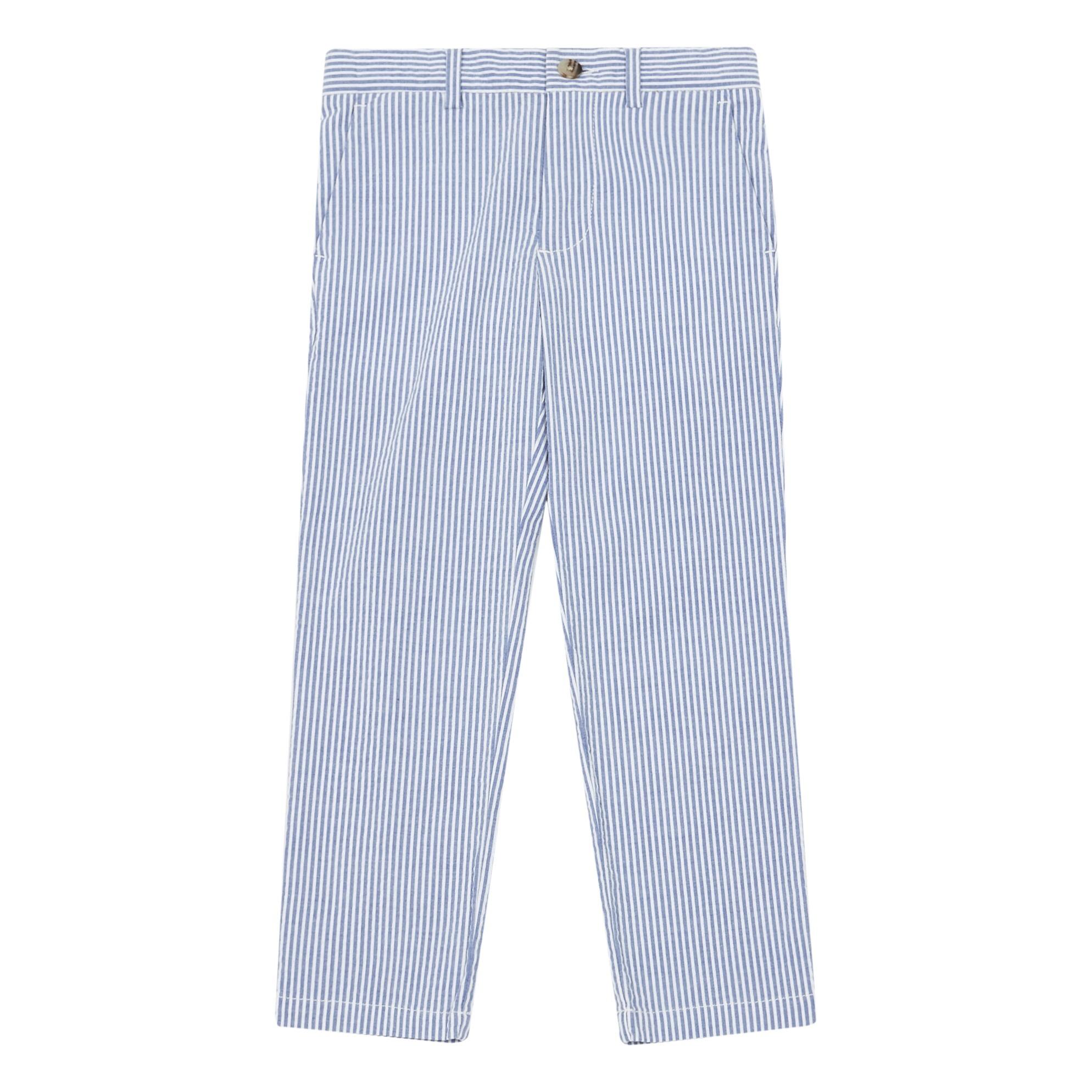 Pantalon Seersucker