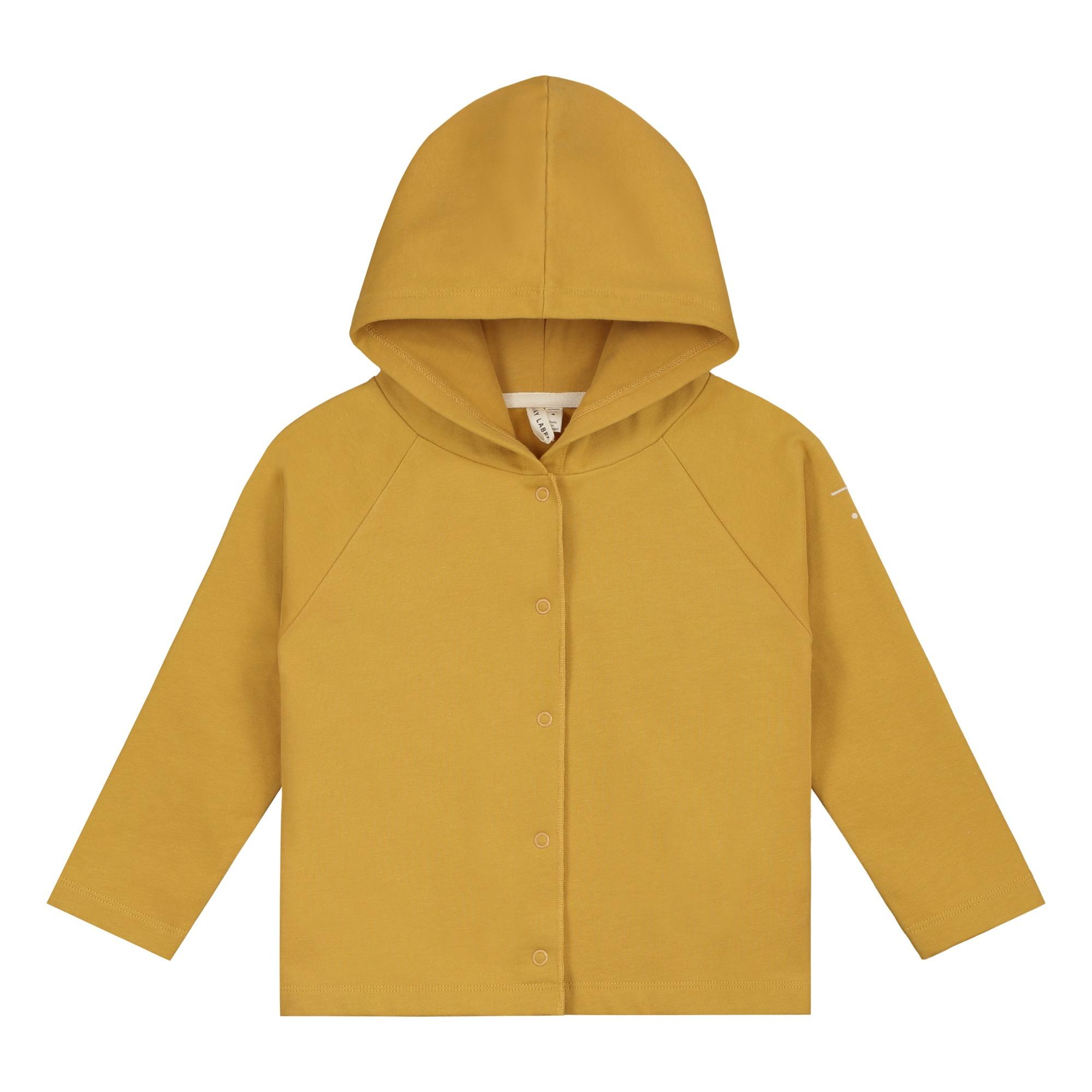 Nice: Cardigan Hooded Bio-Baumwolle