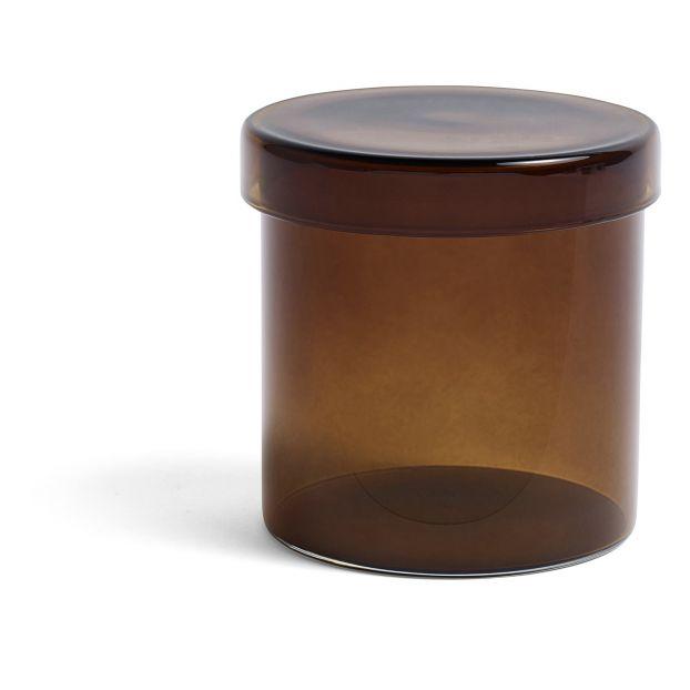 Boite De Rangement En Verre Marron Hay Design Adulte
