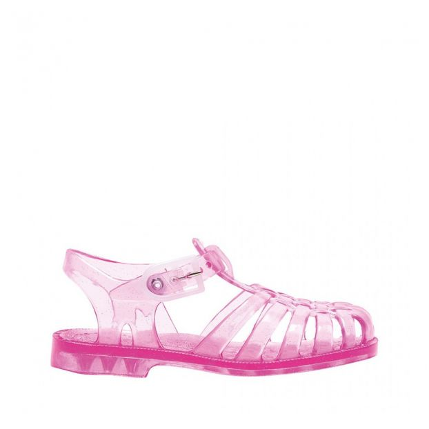 Sun Sequined Jelly Shoes Pink Meduse