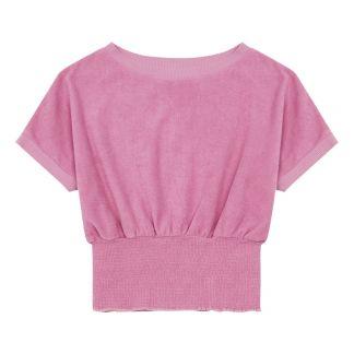 Red Melon Girls Cotton Short Sleeve Dip Dye T-Shirt