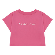 product-We Are Kids Crop Chloé Organic Cotton T-shirt
