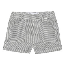 product-Tartine et Chocolat Striped Linen Shorts