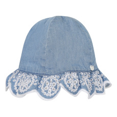 product-Tartine et Chocolat Embroidered Chambray Hat