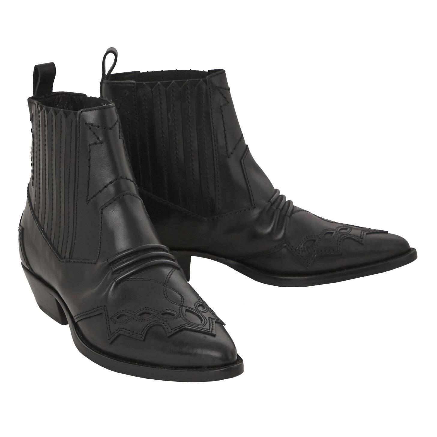 Boots Tucson Cuir