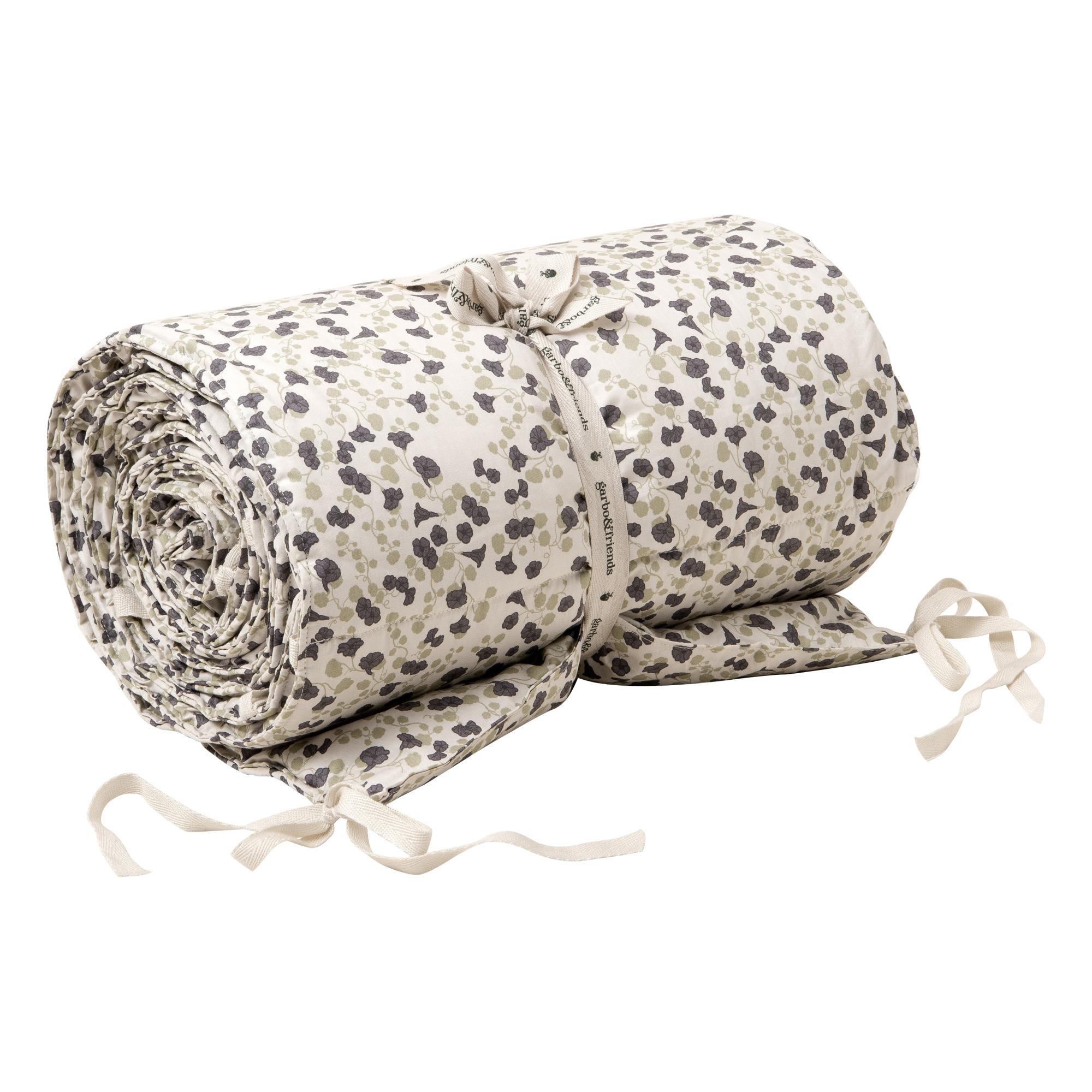 Tour de lit en percale de coton