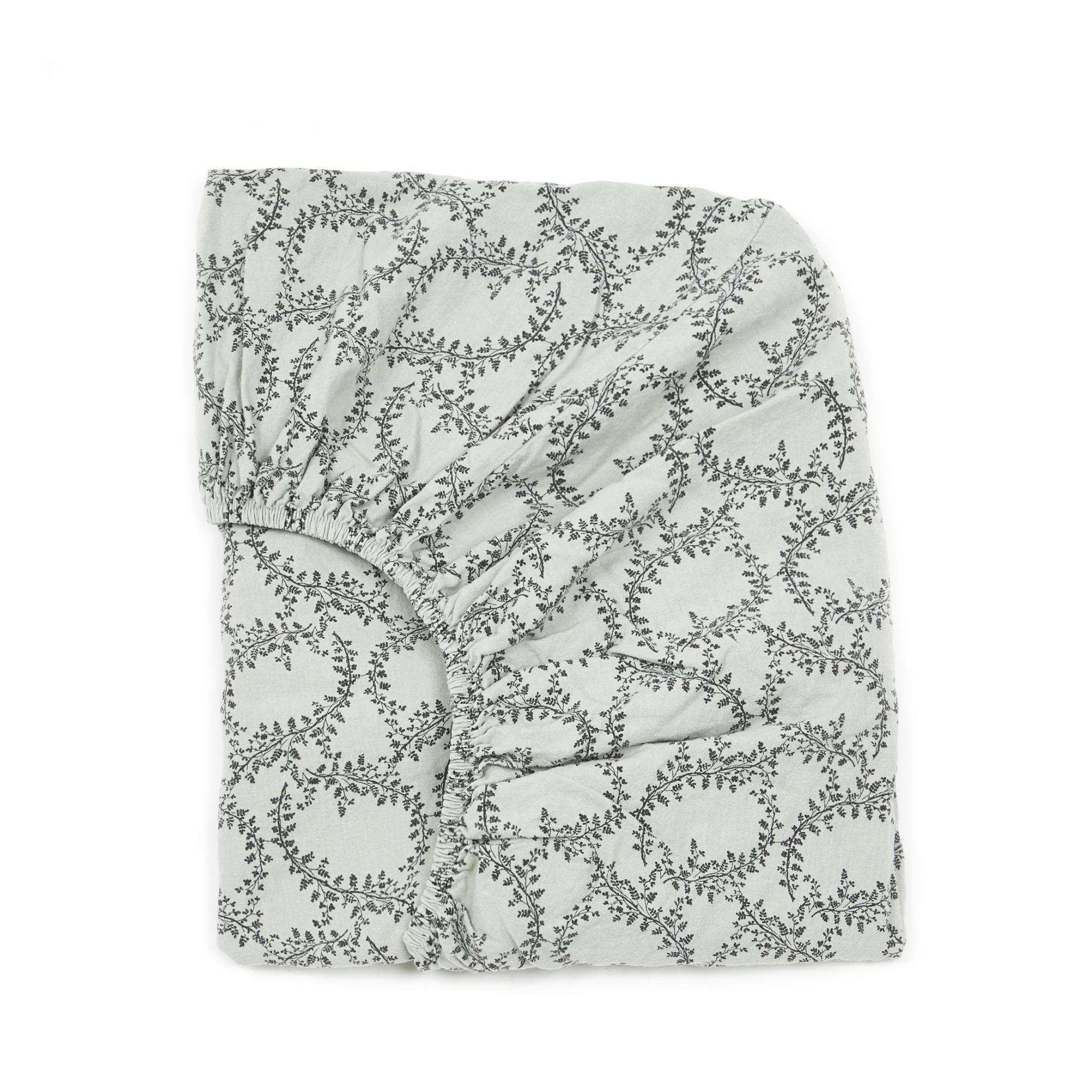 Drap-housse en mousseline de coton