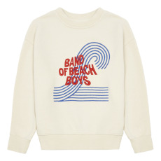 product-Hundred Pieces Band of Beach Boys Organic Cotton Sweatshirt