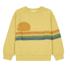 product-Hundred Pieces Sunset People Organic Cotton Sweatshirt