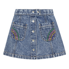 product-Hundred Pieces Jupe Courte Jean