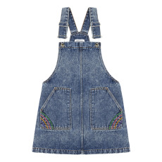 product-Hundred Pieces Denim Overall Dress