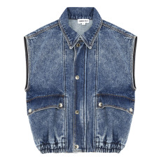 product-Hundred Pieces Veste Jean Love Yourself