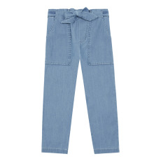 product-Hundred Pieces Chambray Trousers