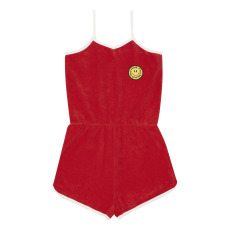 product-Hundred Pieces Terry Cloth Playsuit